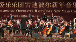 Raidy Boer Provides Assistance to Italian Philharmonic Orchestra to Perform A New Year Concert in China